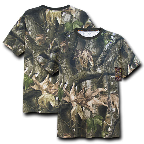 Camo Shirt, HYBRiCAM Camouflage T-Shirt, Hunting Tactical Shirt - Rapid Dominance R58