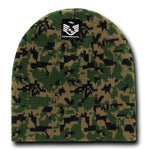 Camo Beanie Knit Cap Camouflage Military Watch Cap - Rapid Dominance R602
