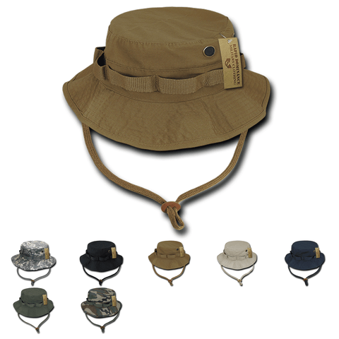 Military Boonie Hat Ripstop Tactical Australian Bucket Hat - Rapid Dominance R71