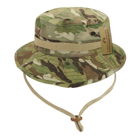 Military Boonie Hat MultiCam Camo Ripstop Tactical Australian Bucket Hat - Rapid Dominance R73