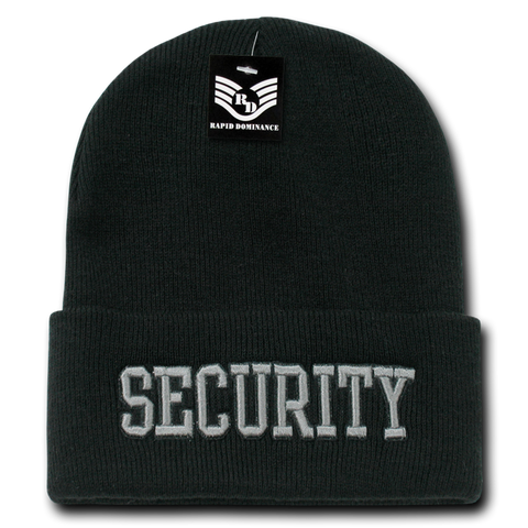 Security Public Safety Knit Beanie Cap - R81