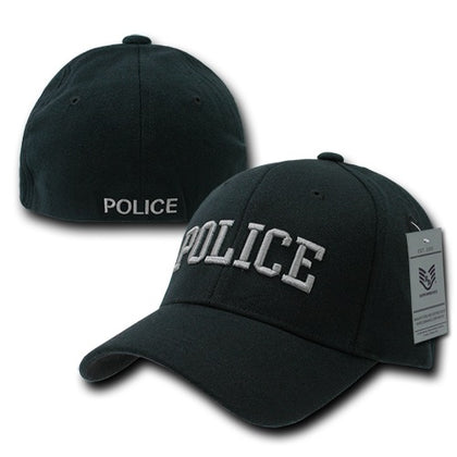 Police Flex Cap Baseball Hat Law Enforcement Officer Cop - Rapid Dominance R82