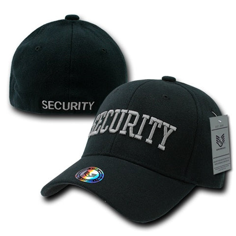 Security Flex Cap Baseball Hat Law Enforcement Public Safety Guard - Rapid Dominance R82