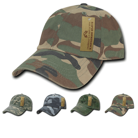 Camo Tactical Hat Camouflage Baseball Cap Military - Rapid Dominance R830