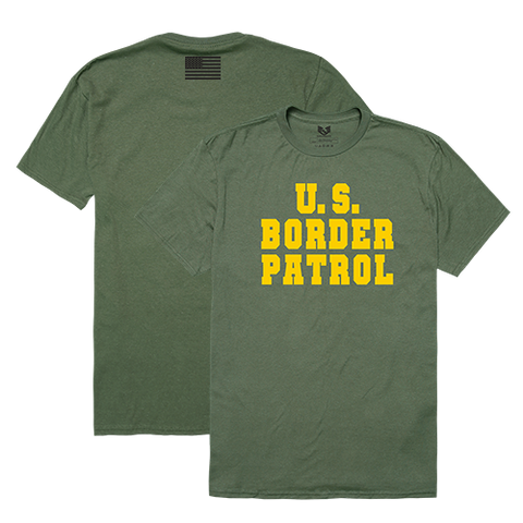 Border Patrol T-Shirt, US Customs and Border Protection Shirt, Relaxed Graphic T-Shirt - Rapid Dominance RS2