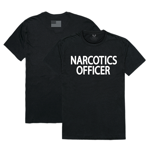 Narcotics T-Shirt, Narcotics Officer Shirt, Relaxed Graphic T-Shirt - Rapid Dominance RS2
