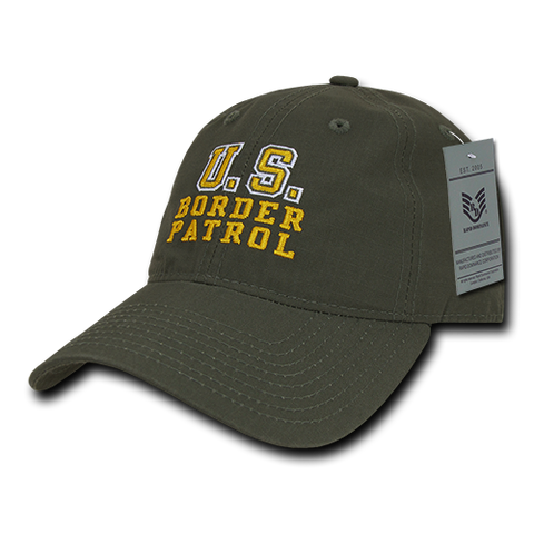 US Border Patrol Baseball Cap Ripstop Hat Customs - Rapid Dominance S74