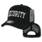 Security Trucker Hat Mesh Baseball Cap Guard Public Safety - Rapid Dominance S77