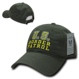 US Border Patrol Hat Relaxed Baseball Cap Customs - Rapid Dominance S78