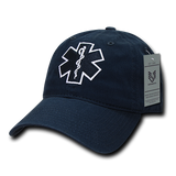 EMT Hat Relaxed Baseball Cap Paramedic Star of Life Ambulance - Rapid Dominance S78