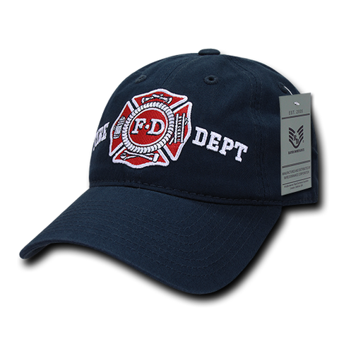 Fire Department Hat Relaxed Baseball Cap Firefighter FD - Rapid Dominance S78