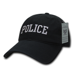 Police Hat Relaxed Baseball Cap Officer Cop Law Enforcement - Rapid Dominance S78