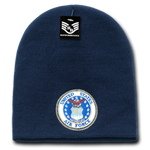 United States Air Force Beanie, Air Force Knit Cap, USAF Beanie, Air Force Emblem - Rapid Dominance S90
