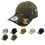 Ripstop Tactical Operator Hat Trucker Mesh Cap Patch Military Army - Rapdom T111