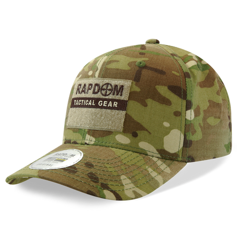 MultiCam Camo Operator Hat, Camouflage Tactical Hat - Rapid Dominance T74