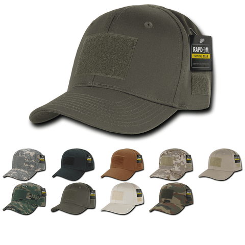 Tactical Operator Hat Baseball Cap Patch Military Army - Rapdom T75