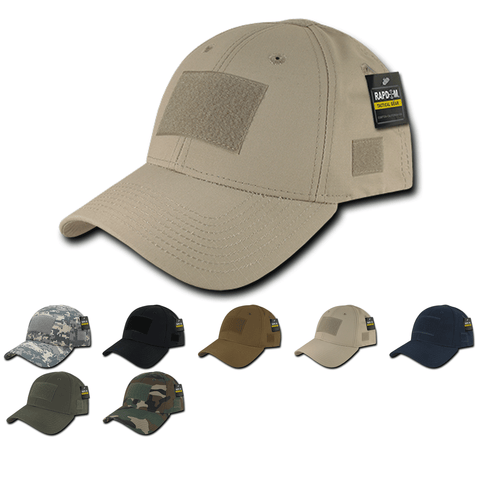 Ripstop Tactical Operator Hat Baseball Cap Patch Military Army - Rapdom T77