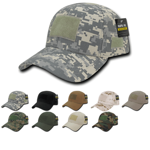 Tactical Operator Hat Structured Baseball Cap Patch Military Army - Rapdom T78