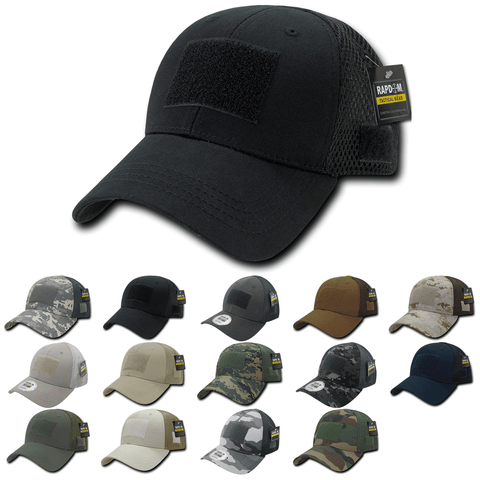 Tactical Operator Hat Air Mesh Baseball Cap Patch Military Army - Rapdom T80