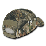 Structured Hybricam Camo Tactical Operator Hat, Patch Cap, Tree Bark Camo - Rapid Dominance T84