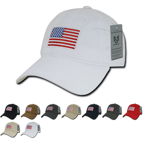Wholesale Bulk American USA Flag Original Dad Hat - A031