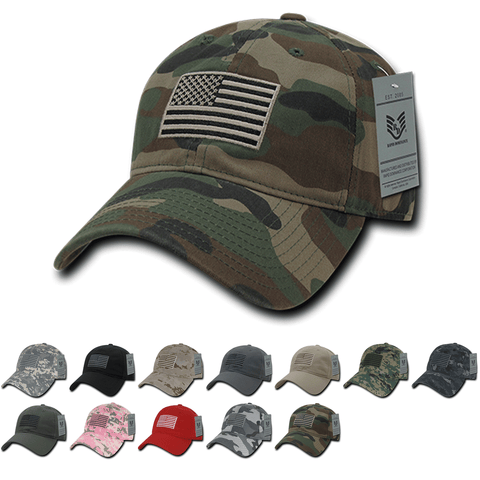 Wholesale Bulk American USA Flag Tonal Dad Hat - A03