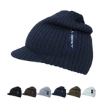 Wholesale Bulk Blank Campus Jeep Knit Cap Beanie - Decky 621