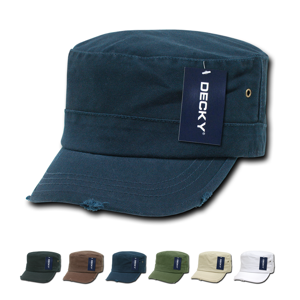 Wholesale Blank Fitted GI Military Cadet Hats - Decky GR4 – The Park