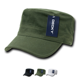Wholesale Bulk Blank Flex Cadet Military Hats - Decky 115