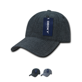 Wholesale Bulk Denim Dad Hats Relaxed - Decky 117