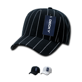 Wholesale Bulk Fitted Pin Stripe Baseball Hats - Decky 403