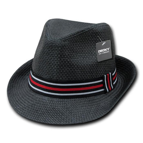 Wholesale Bulk Paper Straw Fedora Hat - 530