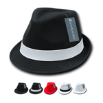 Wholesale Bulk Poly Woven Fedora Hats - 553