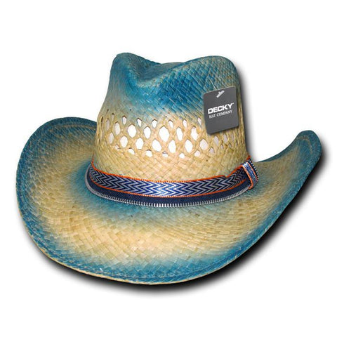 Wholesale Bulk Raffia Straw Cowboy Hat - 522