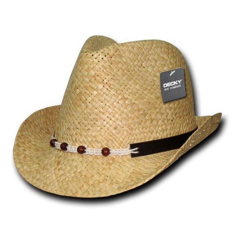 Wholesale Bulk Raffia Straw Woven Fedora Hat - 537