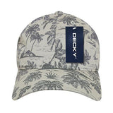 Wholesale Bulk Tropical Polo Dad Cap - Decky 245