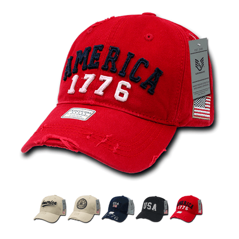 Wholesale Bulk USA America Baseball Caps - A01