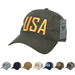 Wholesale Bulk USA America Ripstop Relaxed Hats - S731