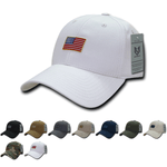 Wholesale Bulk USA American Rubber Flag Baseball Hat - A07