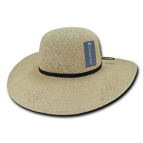 Wholesale Bulk Women's Paper Braid Straw Hat, Style LM - L004