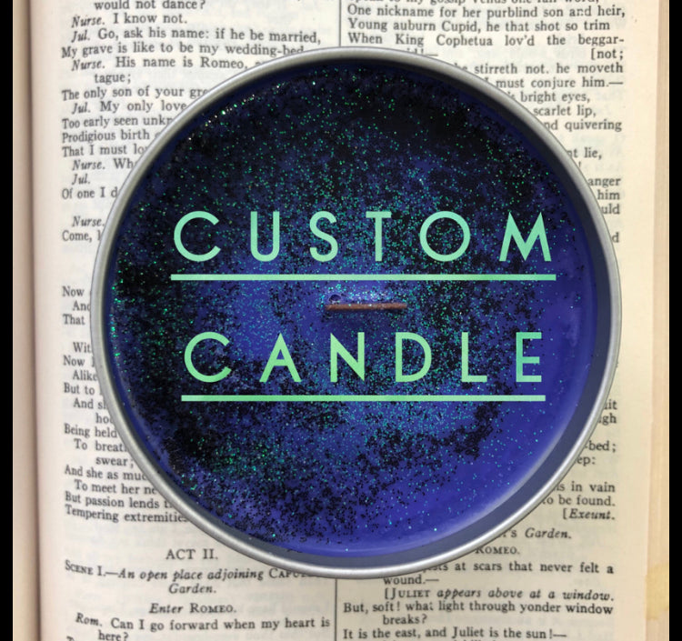 Custom Candles & Wax Melts
