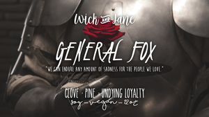 General Fox PREORDER (October Wick & Jane Book Club ♥ The Bone Witch) ~ 6-8 Week Preorder