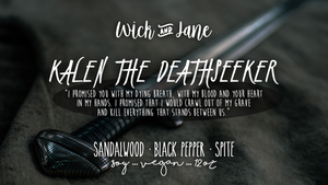Kalen the Deathseeker PREORDER (October Wick & Jane Book Club ♥ The Bone Witch) ~ 6-8 Week Preorder