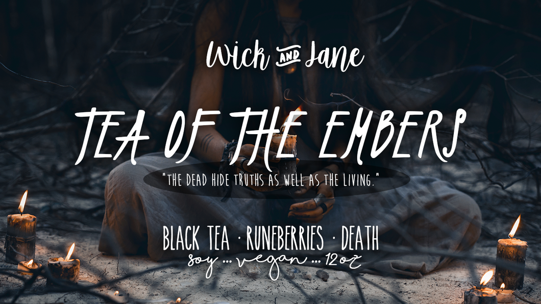 Tea of the Embers PREORDER (October Wick & Jane Book Club ♥ The Bone Witch) ~ 6-8 Week Preorder