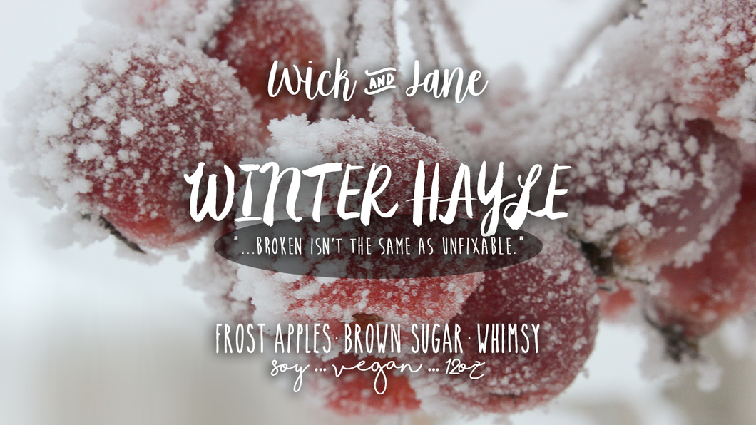 Winter Hayle PREORDER (8-10 Week Processing Time)