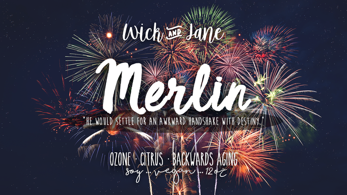 Merlin PREORDER (September Wick & Jane Book Club ♥ Once and Future)