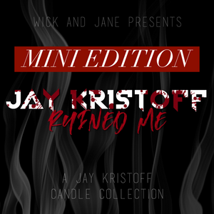"""Jay Kristoff Ruined Me"" Mini Candle Box Set"