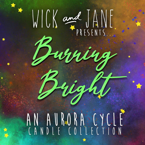 """Burning Bright"" Candle Box Set"