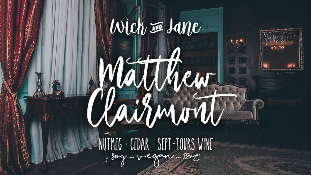 Matthew Clairmont - March Book Bae Exclusive (SHIPS 3/10-3/15)
