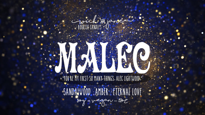 Malec - July Book Bae Exclusive